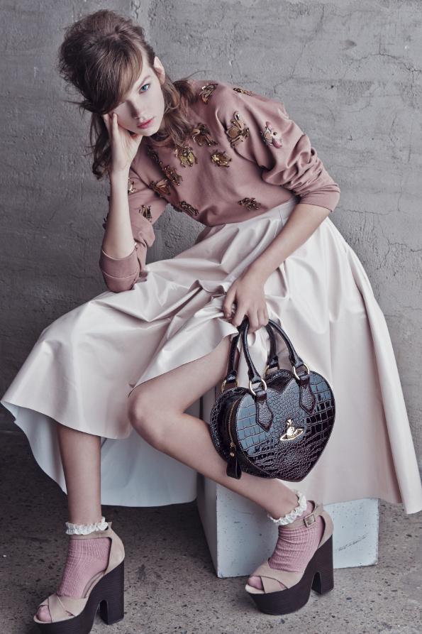 Eva Kliu0301mkovau0301 by Dennison Bertram for Glamour Magazine.Fashion.